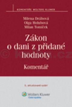 Milena Drábová: Zákon o dani z přidané hodnoty cena od 655 Kč