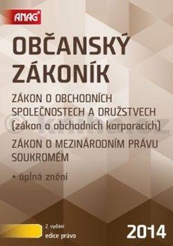 kol.: Občanský zákoník 2014 cena od 257 Kč