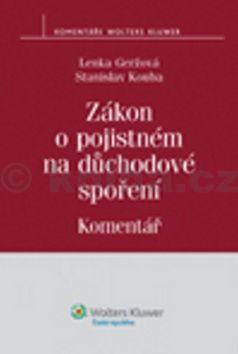 Lenka Geržová, Stanislav Kouba: Zákon o pojistném na důchodové spoření cena od 298 Kč