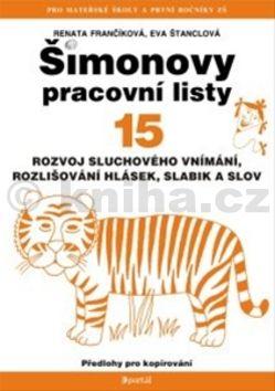 Eva Štanclová Šimonovy pracovní listy 15 cena od 104 Kč