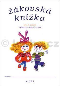 Žákovská knížka pro 3. ročník s obrázky cena od 16 Kč