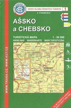 KČT 1 Ašsko a Chebsko cena od 89 Kč