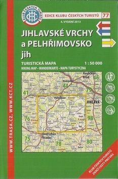 KČT 77 Jihlavské vrchy a Pelhřimovsko jih cena od 81 Kč