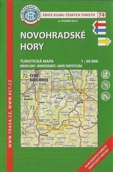 KČT 74 Novohradské hory cena od 85 Kč