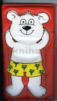 Lední medvídek - Pískací kniha do vany cena od 39 Kč