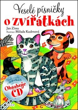 Jan Zíma: Veselé písničky o zvířátkách + CD cena od 77 Kč