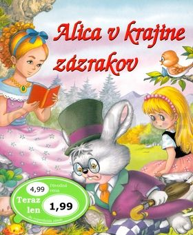 Alica v krajine zázrakov cena od 41 Kč