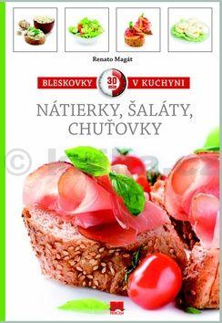 Renato Magát: Bleskovky v kuchyni - Nátierky, chuťovky, šaláty cena od 213 Kč