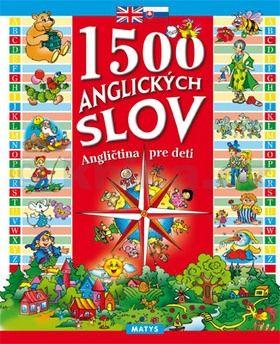 1500 anglických slov -  Angličtina pre deti cena od 174 Kč