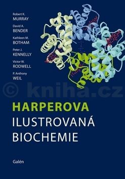 Robert K. Murray, David A. Bender, Kathleen M. Botham, Peter J. Kennelly, Victor W. Rodwell, P. Anthony Weil: Harperova ilustrovaná biochemie cena od 1076 Kč