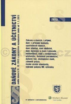Daňové zákony a účetnictví podle stavu k 31. 12. 2012 cena od 100 Kč