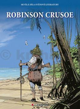 Daniel Defoe: Robinson Crusoe (komiks) cena od 183 Kč