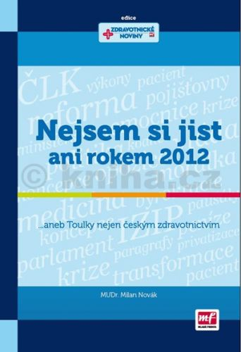 Milan Novák: Nejsem si jist ani rokem 2012 cena od 178 Kč