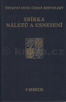 Sbírka nálezů a usnesení ÚS ČR, svazek 63 cena od 377 Kč