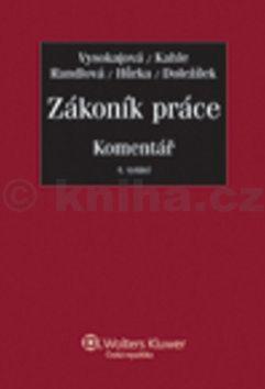 Margerita Vysokajová: Zákoník práce Komentář cena od 869 Kč