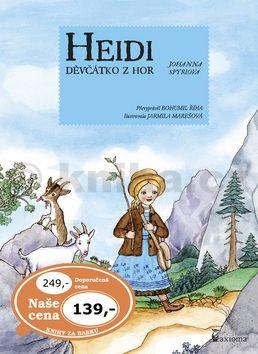 Johana Spyriová: Heidi děvčátko z hor cena od 97 Kč