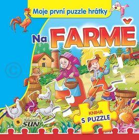 Na farmě Moje první puzzle hrátky cena od 0 Kč
