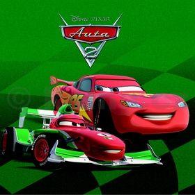 Walt Disney: Auta 2 - leporelo cena od 77 Kč