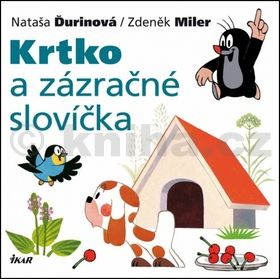 Nataša Ďurinová: Krtko a zázračné slovíčka cena od 78 Kč