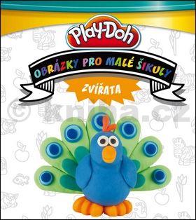 Hasbro: Play Doh! Zvířátka - Obrázky pro malé šikuly cena od 0 Kč