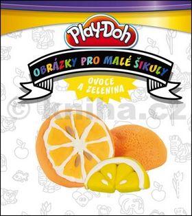 Hasbro: Play Doh! Ovoce a zelenina - Obrázky pro malé šikuly cena od 0 Kč