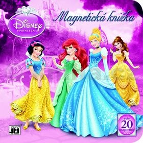 Disney Princezné Magnetická knižka cena od 172 Kč
