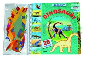 Daniela Řezníčková: Dinosauři - Šablony cena od 114 Kč