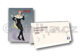 Žofie Kanyzová: Krásná paní - Lunární kalendář s publikací 2014 cena od 221 Kč