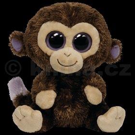 Plyš očka opice střední tmavě hnědá cena od 118 Kč