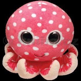 Plyš očka chobotnice pink střední cena od 142 Kč