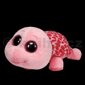 Plyš očka želva pink střední cena od 133 Kč