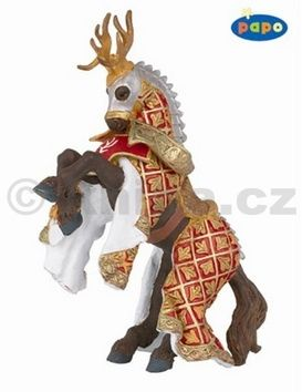 Kůň rytíře Von Jelena červený cena od 130 Kč