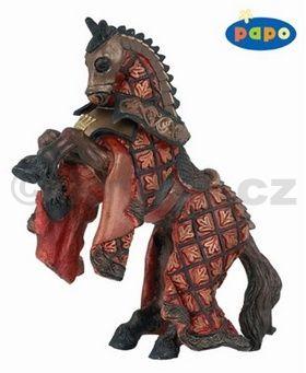 Kůň krále rytířů červený cena od 130 Kč