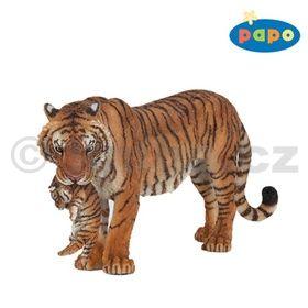 Tygr s mládětem cena od 136 Kč