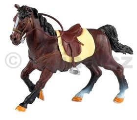 Papo Kůň Hnědý se sedlem cena od 128 Kč
