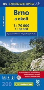 Kolektiv: Brno a okolí 1:70.000 cena od 59 Kč