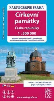Církevní památky České republiky cena od 62 Kč