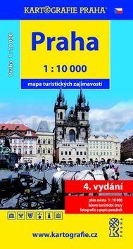 Praha mapa turistických zajímavostí cena od 40 Kč