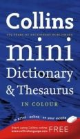 Harper Collins UK COLLINS MINI DICTIONARY THESAURUS - COLLINS cena od 179 Kč