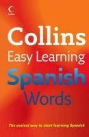 XXL obrazek Harper Collins UK COLLINS EASY LEARNING SPANISH WORDS - COLLINS