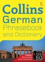 Harper Collins UK COLLINS GERMAN PHRASEBOOK AND DICTIONARY - COLLINS cena od 149 Kč