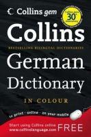 Harper Collins UK COLLINS GERMAN GEM DICTIONARY - COLLINS Coll. cena od 149 Kč