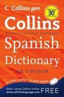 Harper Collins UK COLLINS GEM SPANISH DICTIONARY - COLLINS cena od 149 Kč