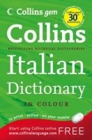 Harper Collins UK COLLINS GEM ITALIAN DICTIONARY - COLLINS cena od 147 Kč