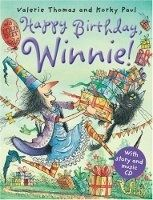 OUP ED HAPPY BIRTHDAY WINNIE + AUDIO CD PACK - PAUL, K., THOMAS, V. cena od 216 Kč