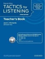 OUP ELT EXPANDING TACTICS FOR LISTENING Third Edition TEACHER´S BOOK... cena od 753 Kč
