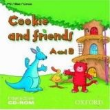 OUP ELT COOKIE AND FRIENDS A AND B INTERACTIVE CD-ROM - HARPER, K., ... cena od 306 Kč