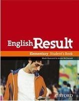 OUP ELT ENGLISH RESULT ELEMENTARY STUDENT´S BOOK + DVD PACK - HANCOC... cena od 406 Kč