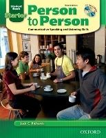 OUP ELT PERSON TO PERSON 3rd Edition STARTER STUDENT´S BOOK + CD - B... cena od 405 Kč