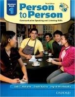 OUP ELT PERSON TO PERSON 3rd Edition 1 STUDENT´S BOOK + CD - BYCINA,... cena od 299 Kč